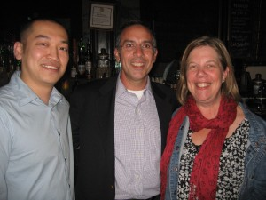 Brian (Muzzy Lane Software), Mike Cavaretta (Morse, Barnes-Brown & Pendleton), Phyllis Kaplan (360Kid)